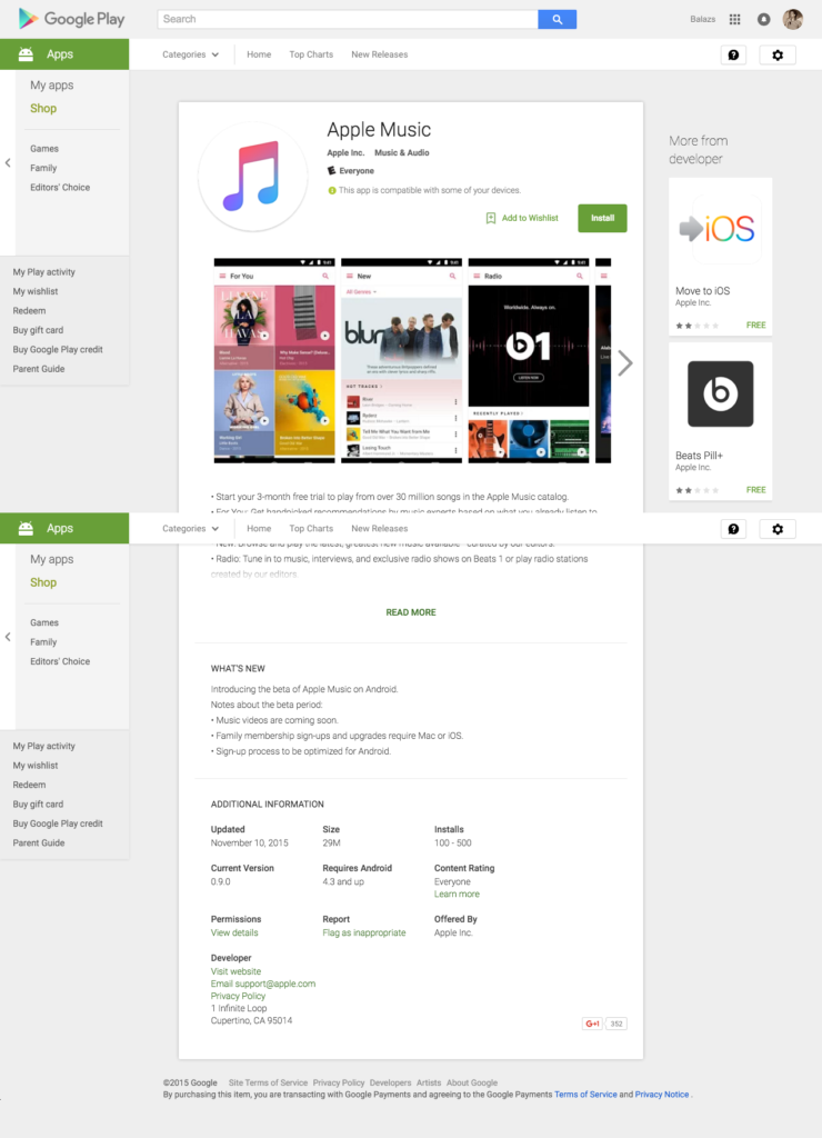 Apple Music Android Apps on Google Play