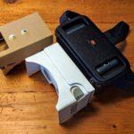 Kicsit sok itt a VR: egy csokker kartonból hajtogatott meg egy céges cardboard, meg persze a Mi