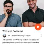 Podcast csatorna nézet